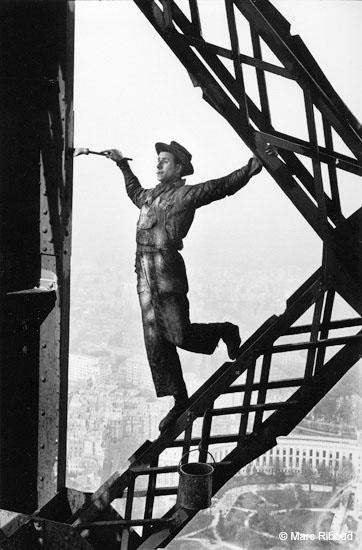 Marc Riboud, le peintre surnommé Zazou,Paris 1953